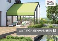 Erwilo Wintergartenmarkisen