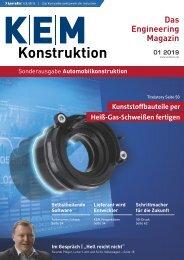 KEM Konstruktion Sonderausgabe Automobilkonstruktion S3.2019