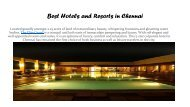Best Hotels and Resorts in Chennai