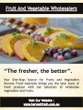 Fruit And Vegetable Suppliers For Restaurants | Call - 02 9746 6503 | harvestfresh.com.au - Page 4