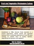 Fruit And Vegetable Suppliers For Restaurants | Call - 02 9746 6503 | harvestfresh.com.au - Page 6