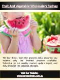 Fruit And Vegetable Wholesalers Sydney | Call - 02 9746 6503 | harvestfresh.com.au - Page 5