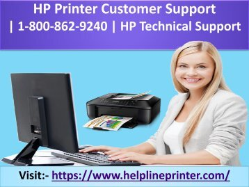 HP Printer Customer Support | 1-800-862-9240 | HP Technical Support