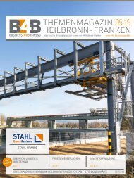 SPEDITION, LOGISTIK & HEBETECHNIK | B4B Themenmagazin 05.2019
