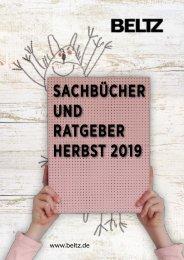 Sachbuch/ Ratgeber Vorschau Herbst 2019