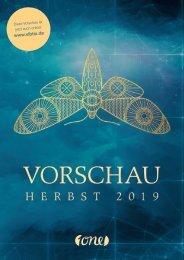 ONE Vorschau_HW2019