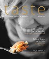 Taste magazine - eerste jaargang