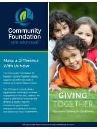 Giving Together Catalog 2019