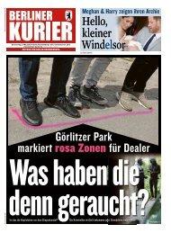Berliner Kurier 09.05.2019