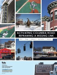 Activating Columbia Road: Reframing a Missing Link