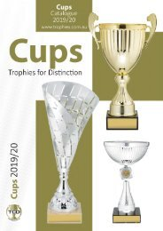 2019 Cups Catalogue