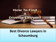 How To Find a Best Divorce Lawyers?