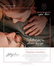 Stephens Jewellers - Showcase Your love