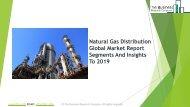 Natural Gas Distribution Global Market Report 2019