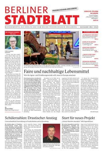 Berliner Stadtblatt Friedrichshain-Kreuzberg | Mai 2019