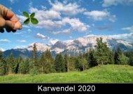 Karwendel Kalender 2020