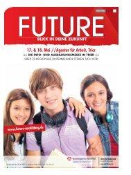 Future - Die Info- & Ausbildungsmesse in Trier - 17. & 18. Mai