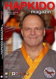 Hapkido-magazin-2019-02 ISSN: 2626 1820