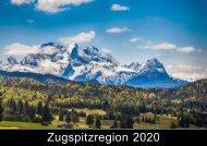 Zugspitzregion Kalender 2020