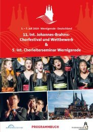 Wernigerode 2019 - Program Book