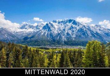 Mittenwald Fotokalender 2020