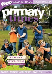 Primary Times North Yorkshire May edition