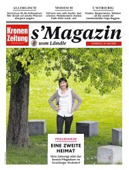 s'Magazin usm Ländle, 12. Mai 2019