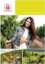 CAPREO Sommerkatalog 2019