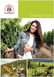 CAPREO Summer catalogue 2019