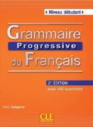 extrait Grammaire progressive du français 2e édition - niveau débutant