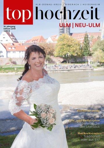 Top Ulm/Neu-Ulm TOP Hochzeit 2019