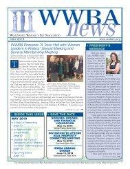WWBA May 2019 Newsletter - M