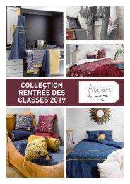 Book Les Ateliers du Linge Rentrée des classes 2019