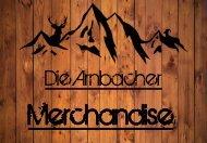 Merchandise Katalog die Arnbacher