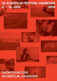 35. Kurzfilm Festival Hamburg - Programmheft