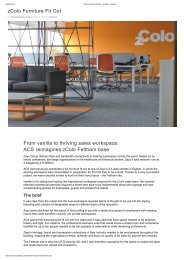 zColo Furniture Fit Out - acs365 - London