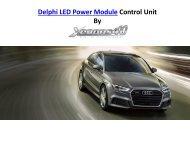 Delphi 4G0907697D LED Power Module by Xenons4u