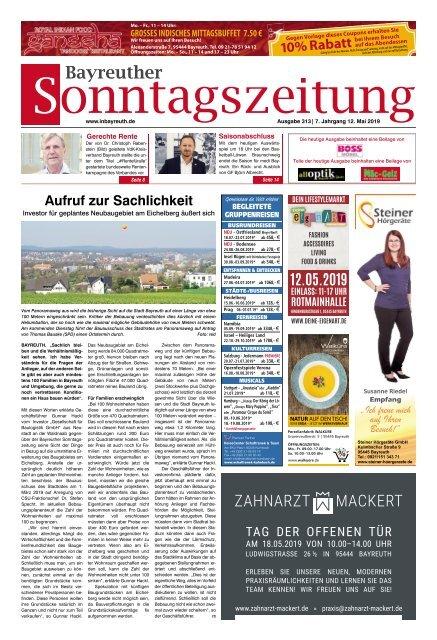 2019-05-12 Bayreuther Sonntagszeitung