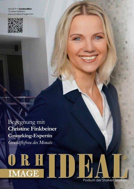 Christine Finkbeiner, Coworking Expertin