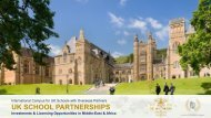 UK Schools Partnerships in Middle-East & Africa