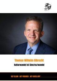 Thomas Wilhelm Albrecht   Keynote Speaker Portfolio