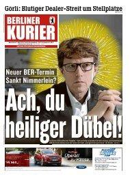 Berliner Kurier 11.05.2019