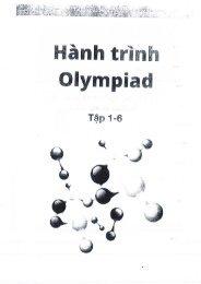 Hành Trình Olympic Tuyển Tập Đề Thi Olympic Hóa Học Việt Nam Và Quốc Tế By HNT OlympiaVN @ 2016 (Đáp án)
