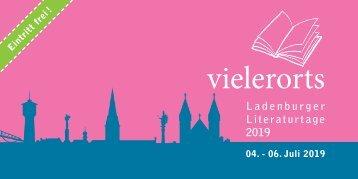 Ladenburger Literaturtage 2019
