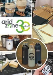 Arid Zone Trending Promotional Products Collection