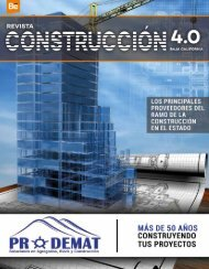 REVISTA CONSTRUCCION 4.0 BC - Digital
