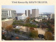 Visit Korea By KIM'S TRAVEL