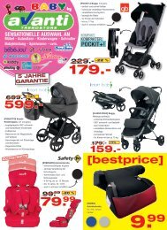Babywerbung Mai 2019