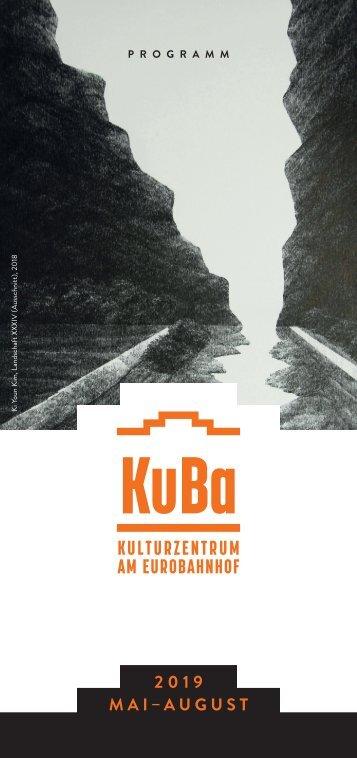 KuBa e.V. Programmheft Mai-August 2019