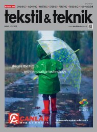 Tekstil Teknik Mayis 2019
